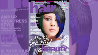 Anita Baatjies from Hair at the Hub Has Front Cover in India