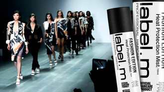 Label.m Launches Fashion Edition Heat Protection Mist