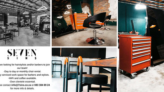 Space Available in Conceptual Hair Studio, Greenside, Jhb