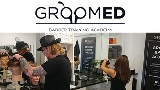 Win: Barber Training Course from Groomed Academy