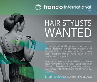 Classified Jobs: Hairstylist Needed - Franco International Hyde Park