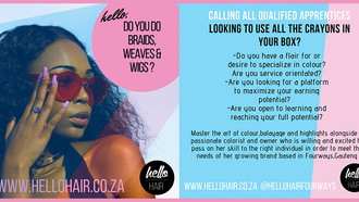 Stylists Required at Hello Hair, Fourways