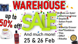 Lime Light & Hands Down Warehouse Sale 25-26 Feb
