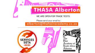 Take Your Hairdressing Trade Test at THASA Alberton