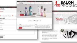 New Look for Salon Product Online: The e-commerce site for your salon