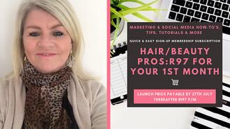 Special Offer: Salon-Relevant Marketing & Social Media Education