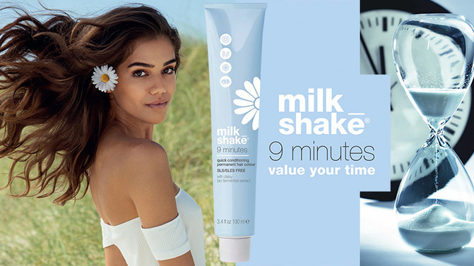 Milkshake 9 Minutes Permanent Colour Now In Stock