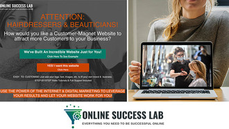Salons: Build Your Own Customer-Magnet Website with Online Bookings, Shop, Email Marketing & Mor