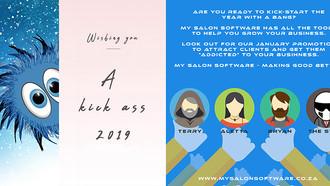 Kickstart your 2019 with My Salon Software