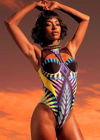Fashion Inspiration: Andrea Iyamah Swimwear