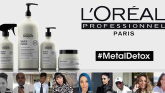 Meet Our PRO's: L'Oréal Professionnel's Metal Detox