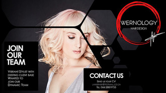 Stylist Required for Wernology Hair Design, Dunkeld