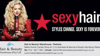 Sexy Hair Range Available from Hair & Beauty Warehouse