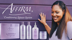 Affirm Conditioning Relaxer System Has Launched: In Stock, Special Discount Price for Salons