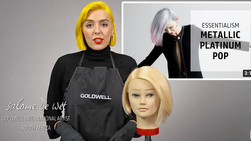 Goldwell Education Plus: Metallic Platinum Pop Hair Color with Salome de Wet