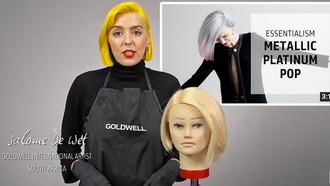 Goldwell Education Plus: Metallic Platinum Pop Hair Color with Salome de Wet