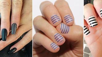 Nail Art: Creating Stripes