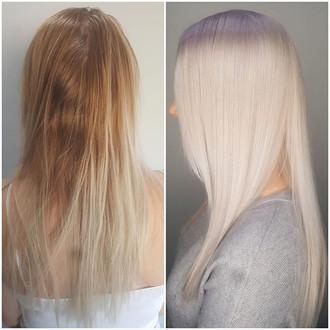 Before & After: Perfect Platinum by Kira Ziegelmeier, Me Myself & I