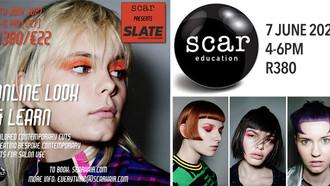 Scar Hair presents Online Look and Learn Webinar with Slate Education, London