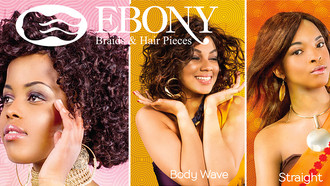 Human Hair from Ebony Waves: Jerry Curl, Body Wave & Straight