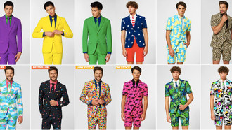 Crazy Men's Suit Designs