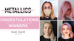 NAK Hair Metallics Insta Competition Winners