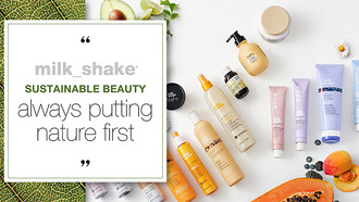 Milkshake Sustainable Beauty: Caring for the Environment and for Clients