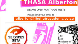 Take Your Hairdressing Trade Test at THASA Alberton