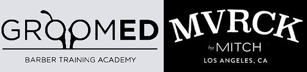 Groomed AcademyMVRCK Education Logo GREY