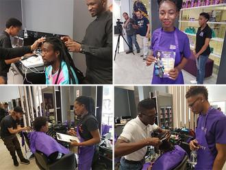 Dark & Lovely Academy Hosts Pop-Up Salon for Student Training
