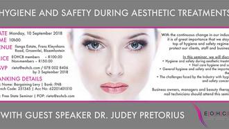EOHCB Safety and Hygiene Seminar: Bloemfontein, 10 September