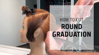 Goldwell Education Plus: Cutting Round Graduation for Short Hair