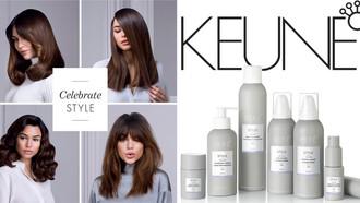 Keune Introduces Revamped Styling Range