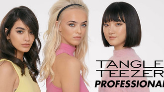 Tangle Teezer's The Power's in the Teeth Hairstyle Collection