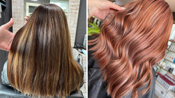 Collaboration Copper Colour by Jadie Professionals