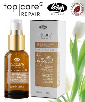 Icon Launches Lisap Top Care Repair Shining Oil