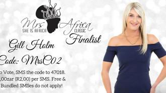 Zephyr Hair Design Sponsors Mrs Africa Finalist