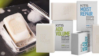 KMS Goes Solid with New Shampoo Bars