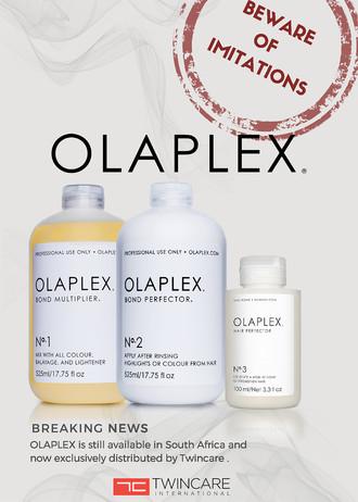Olaplex: Now Distributed Through Twincare