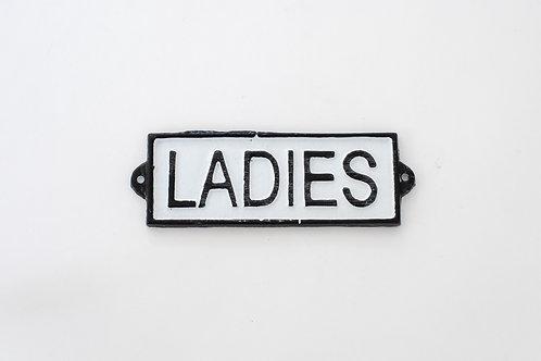 Letrero Ladies