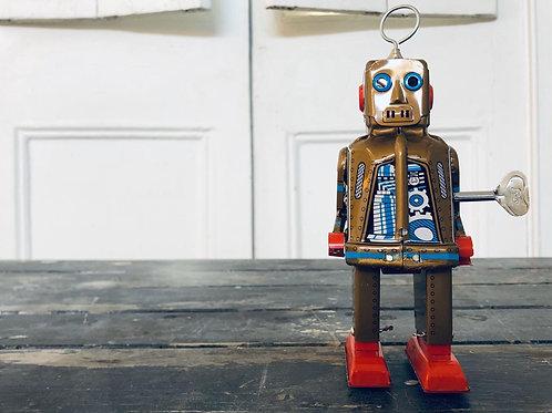 Robot dorado