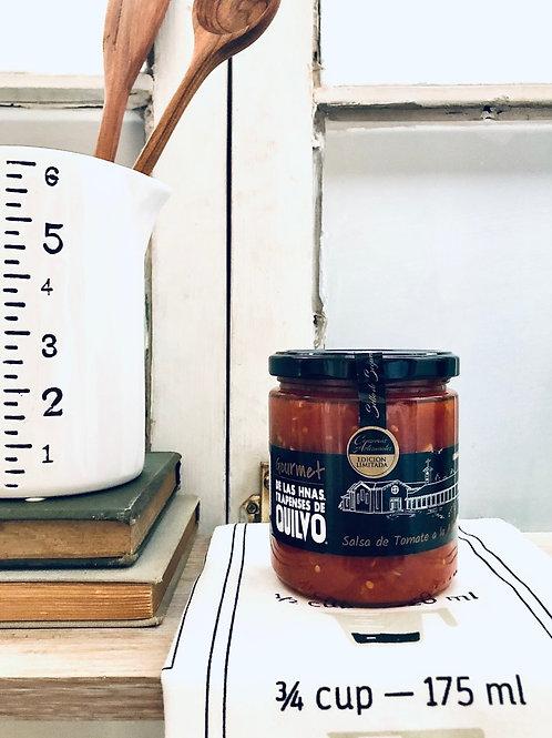 Quilvo salsa tomate a la albahaca