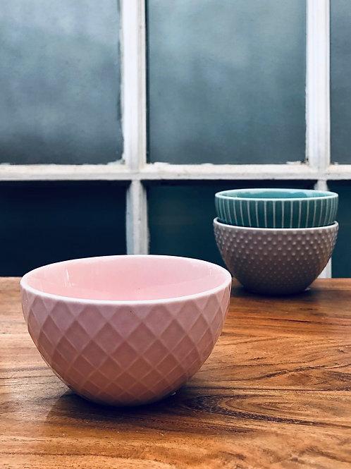 Bowl cerámica petit rosa