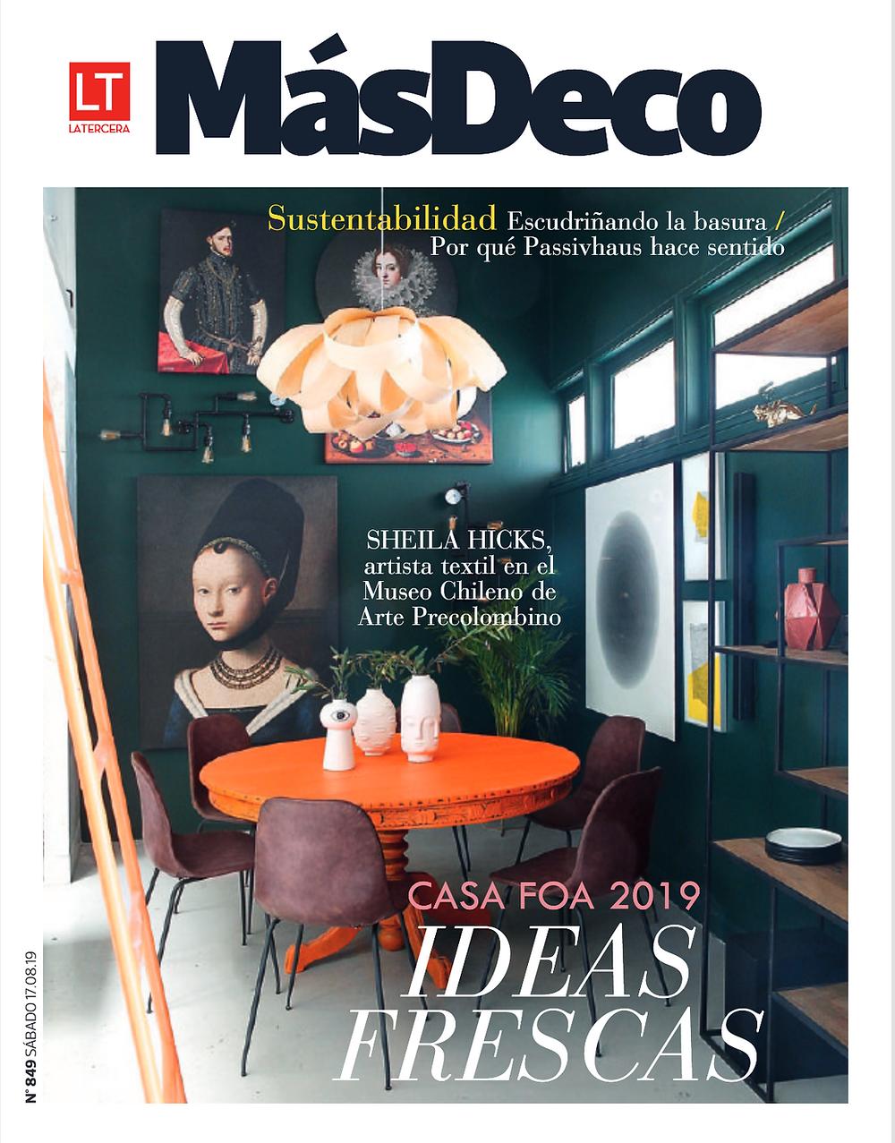 Portada revista Más deco 17.08.19