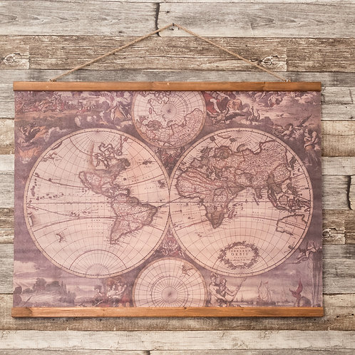 Wall chart Mapamundi
