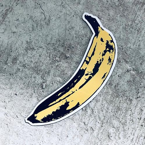 Imán Banana Warhol