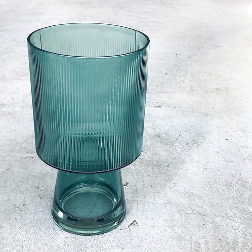 Florero copon verde