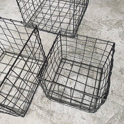 Set Canastos cuadrados