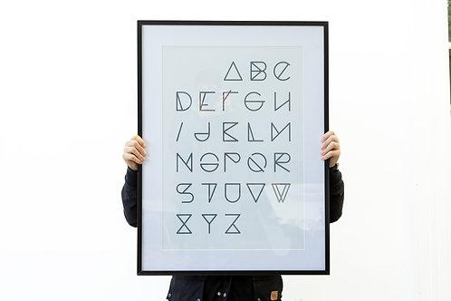 Cuadro abecedario