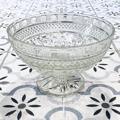 Frutera  de vidrio